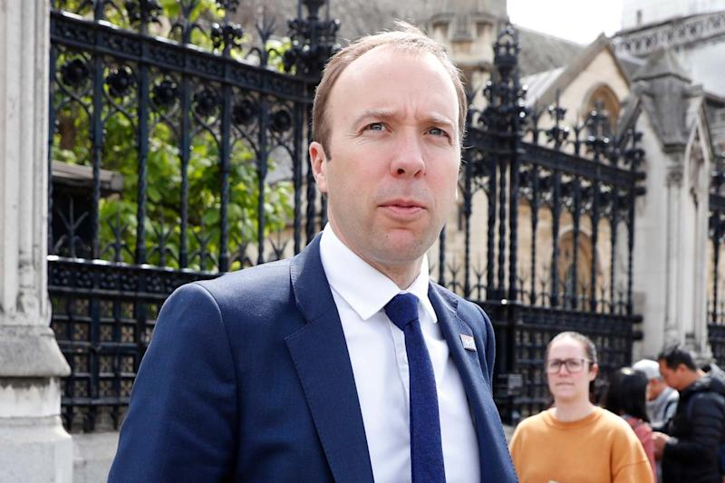 Matt Hancock has ordered a review of NHS food after listeria death toll hit five (AP)
