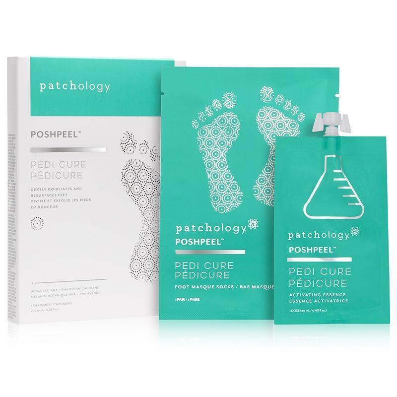 """<p><strong>patchology</strong></p><p>dermstore.com</p><p><strong>$20.00</strong></p><p><a href=""""https://go.redirectingat.com?id=74968X1596630&url=https%3A%2F%2Fwww.dermstore.com%2Fproduct_PoshPeel%2BPediCure_70584.htm&sref=https%3A%2F%2Fwww.townandcountrymag.com%2Fstyle%2Fbeauty-products%2Fg36039085%2Fbest-foot-peels%2F"""" rel=""""nofollow noopener"""" target=""""_blank"""" data-ylk=""""slk:Shop Now"""" class=""""link rapid-noclick-resp"""">Shop Now</a></p><p>PoshPeel's point of difference—and a clever one, at that—is that it is customizable, so you can calibrate how much Activating Essence you wish to use depending on whether you need a light or more intense skin-slough. </p>"""
