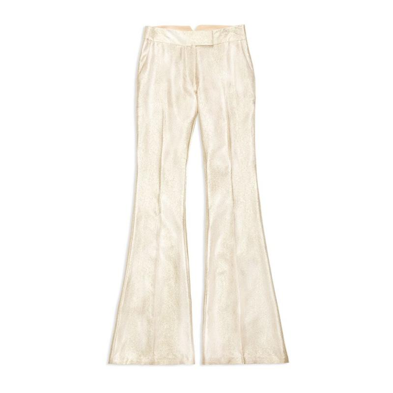 "<a rel=""nofollow"" href=""https://shoprachelzoe.com/shop/new-arrivals/rena-flared-metallic-trousers/?attribute_pa_color=gold"">Rena Flared Metallic Trousers, Rachel Zoe, $395</a><p>     <strong>Related Articles</strong>     <ul>         <li><a rel=""nofollow"" href=""http://thezoereport.com/fashion/style-tips/box-of-style-ways-to-wear-cape-trend/?utm_source=yahoo&utm_medium=syndication"">The Key Styling Piece Your Wardrobe Needs</a></li><li><a rel=""nofollow"" href=""http://thezoereport.com/entertainment/celebrities/halle-berry-naked-selfie/?utm_source=yahoo&utm_medium=syndication"">Halle Berry Looks Better Naked At 50 Than I Ever Have</a></li><li><a rel=""nofollow"" href=""http://thezoereport.com/beauty/skincare/spearmint-tea-clears-acne/?utm_source=yahoo&utm_medium=syndication"">Drinking This Tea Can Help Cure Breakouts, According To The Internet</a></li>    </ul> </p>"