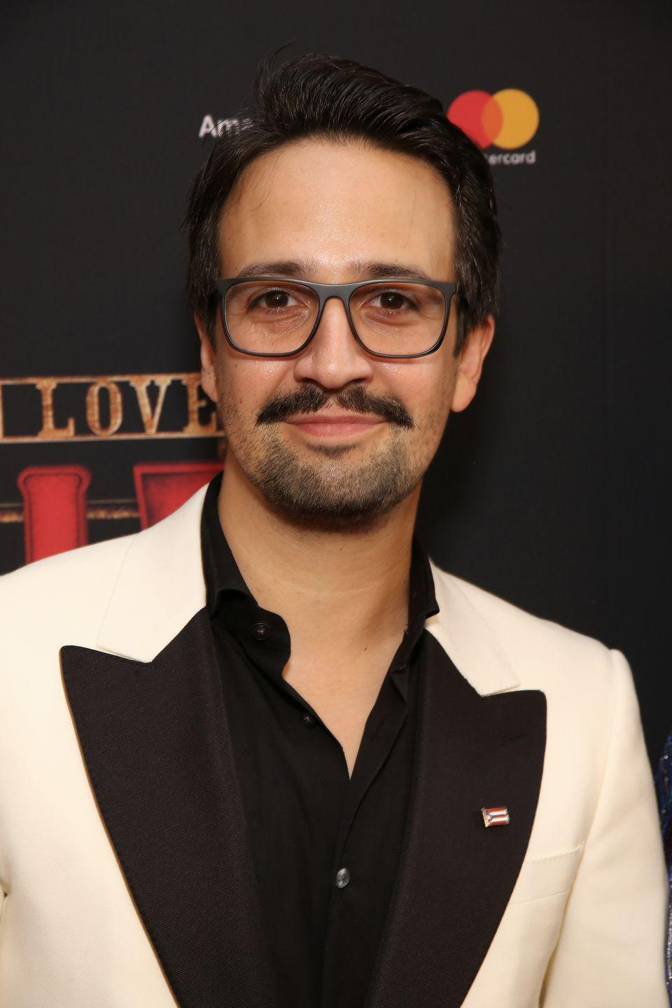 <p>I wonder how many times the playwright put his glasses atop his head while writing <em>Hamilton</em>...</p>