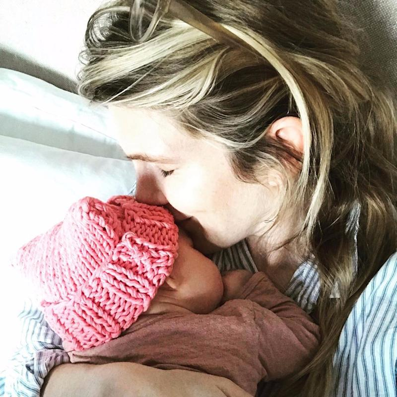 AHS Star Lily Rabe Posts a Photo With Newborn Baby Girl