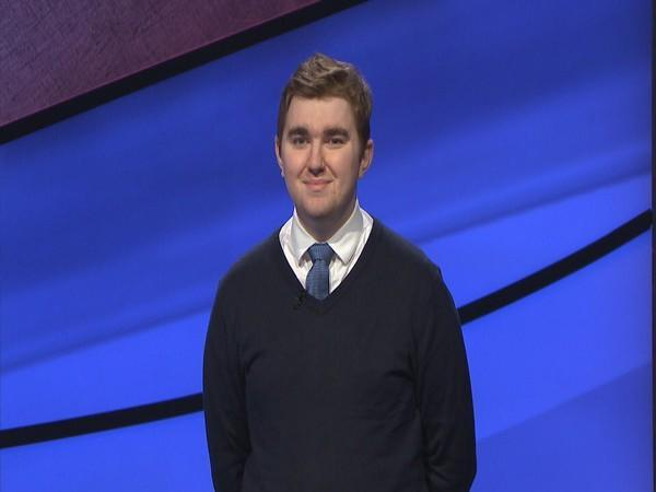 Late 'Jeopardy!' champ, Brayden Smith (Image Source: Twitter)