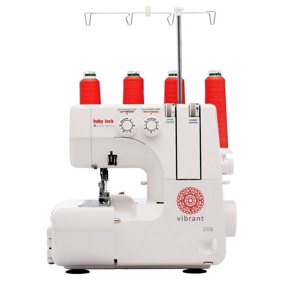 """<p><strong>Baby Lock</strong></p><p>sewingmachinesplus.com</p><p><strong>$399.00</strong></p><p><a href=""""https://go.redirectingat.com?id=74968X1596630&url=https%3A%2F%2Fwww.sewingmachinesplus.com%2Fbl460b.php&sref=https%3A%2F%2Fwww.goodhousekeeping.com%2Fappliances%2Fg16%2Fsewing-machine-reviews%2F"""" rel=""""nofollow noopener"""" target=""""_blank"""" data-ylk=""""slk:Shop Now"""" class=""""link rapid-noclick-resp"""">Shop Now</a></p><p>Sewing machines help projects come together, but sergers finish them with a professional look. Baby Lock Vibrant Serger helps finish edge with four, three, or two thread edges and rolled hems. There's a <strong>retractable thread cutter for easy trimming </strong>when finished. If you're new to using a serger, this machine has a color coded thread system to follow. The feed and tensions can be adjusted for a personalized experience when sewing on different fabrics. We love that this machine includes over 30 accessories that you'll need to keep this machine in excellent condition for years to come.</p>"""