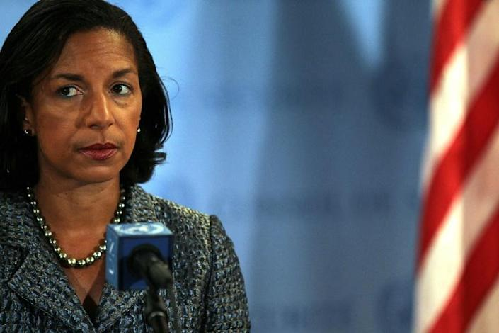 Susan Rice, who served as National Security Advisor under president Barack Obama, is one of the names on Biden's short list for vice president, according to press reports (AFP Photo/SPENCER PLATT)