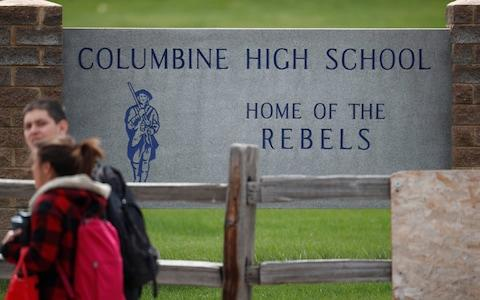 Ms Pais was last seen near Columbine High School, which was put on lockdown after the threats - Credit: David Zalubowski/AP
