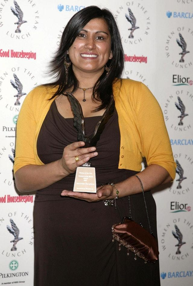 Women's right campaigner Jasvinder Sanghera