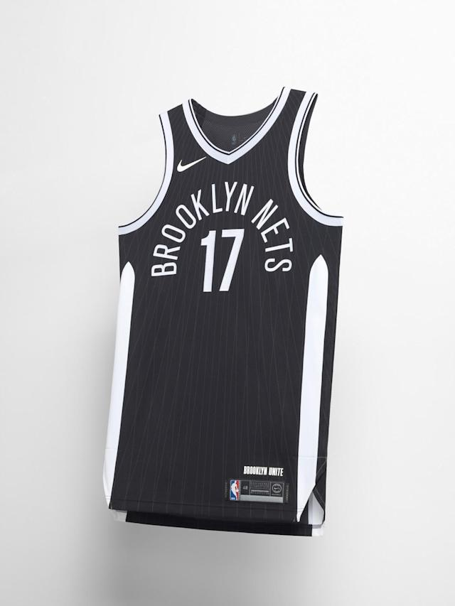 Brooklyn Nets City uniform. (Nike)