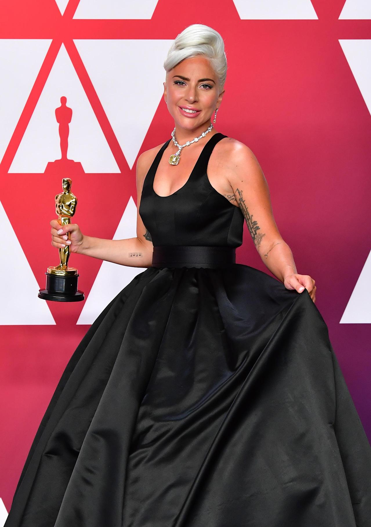 Lady Gaga leads surge in women to become Oscar voters