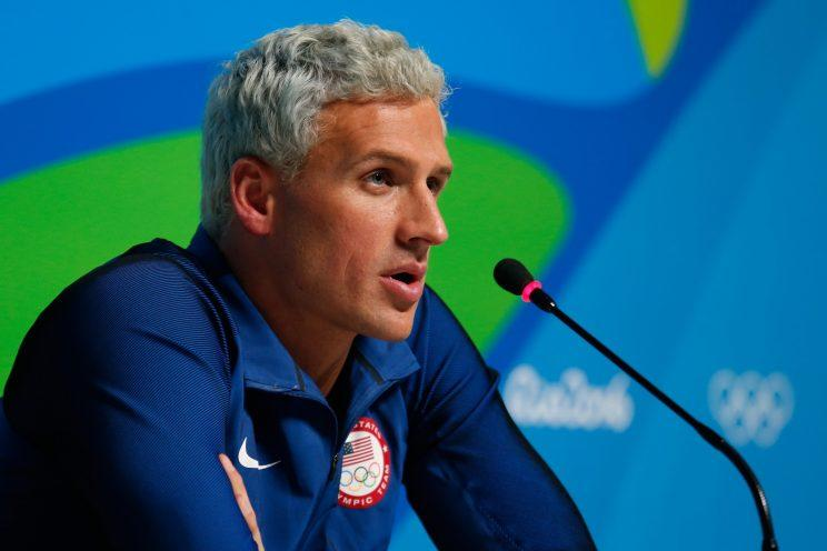 Ryan Lochte at Rio. (Getty)