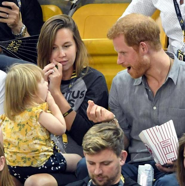 Watch What Happens When A Little Girl Steals Prince Harry