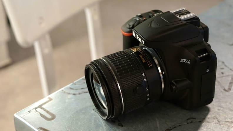The Nikon D3500 takes the power of a bigger camera and shrinks it down into a comfortable, portable package.