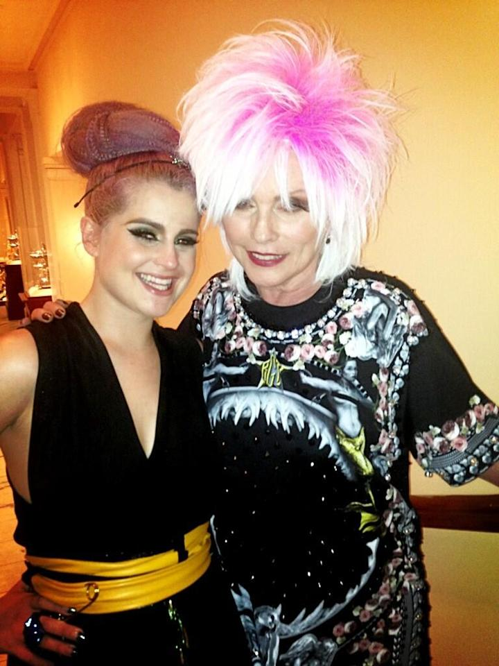 Kelly Osbourne, Debbie Harry