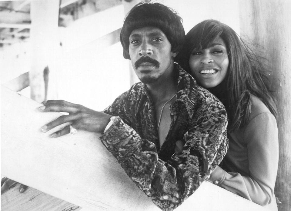 <p>A portrait of Ike and Tina, a few years before she left him in 1976 for a fresh start.</p>