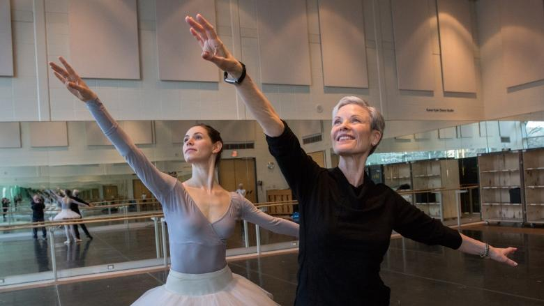 Dancer faces classical ballet's ultimate challenge