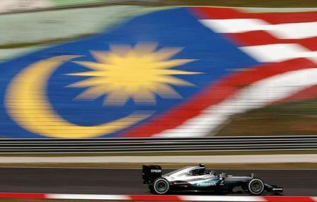 FILE PHOTO: Formula One - F1 - Malaysia Grand Prix - Sepang, Malaysia- 30/9/16. Mercedes' Nico Rosberg of Germany in action during first practice. REUTERS/Edgar Su/File Photo