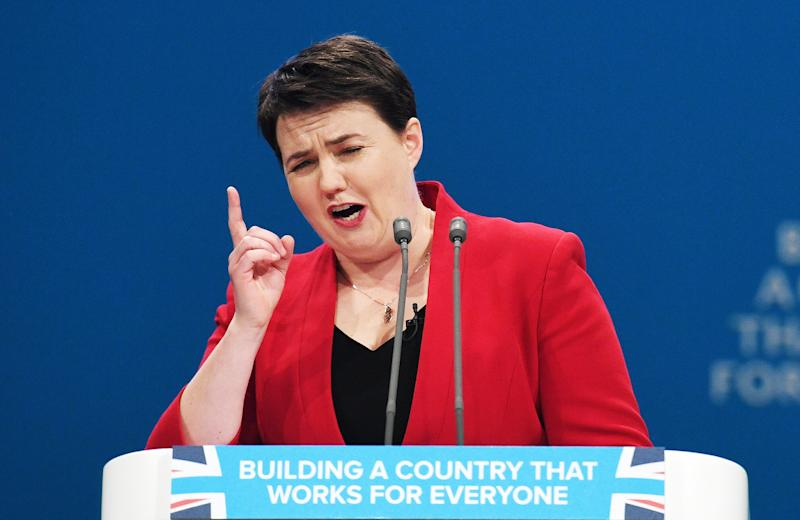 <strong>Ruth Davidson said Tory rebels should 'put up or shut up'</strong> (PA Wire/PA Images)