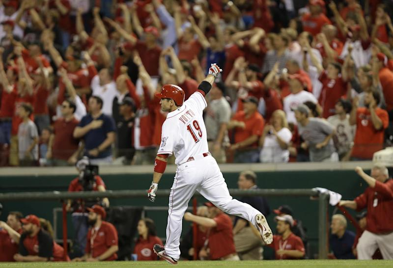Votto's homer gives Reds 4-3 win over Rockies
