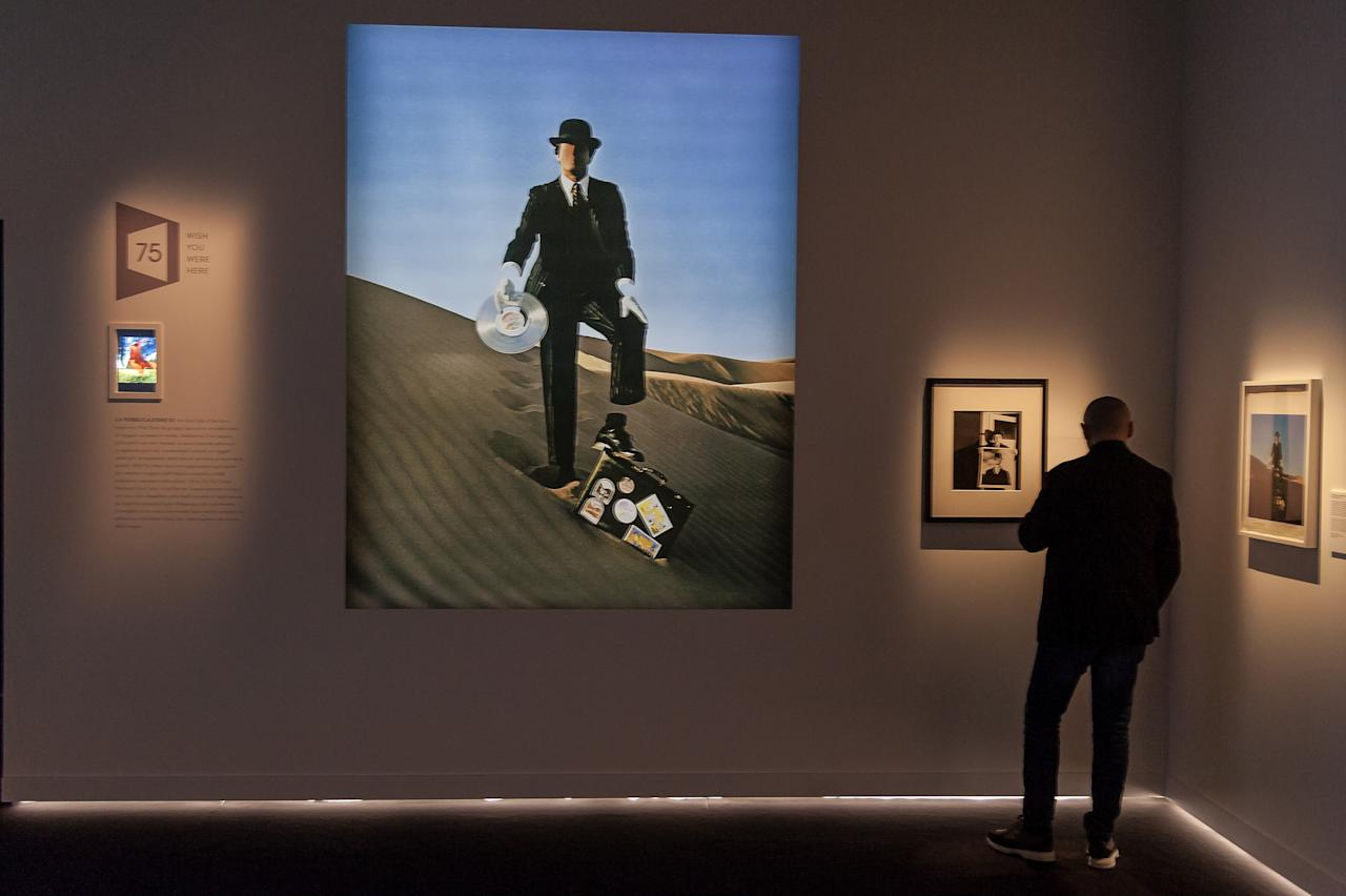 "<p>""The Pink Floyd Exhibition: Their Mortal Remains"" at the Museum of Contemporary Art in Rome. (Photo: Stefano Montesi/Corbis via Getty Images) </p>"