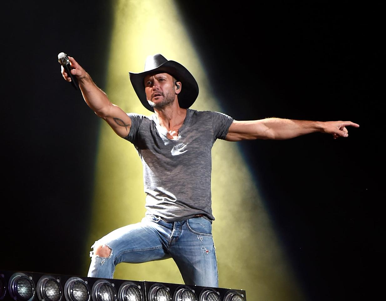 "<p><a href=""http://www.popsugar.com/Tim-McGraw"" class=""ga-track"" data-ga-category=""Related"" data-ga-label=""http://www.popsugar.com/Tim-McGraw"" data-ga-action=""In-Line Links"">Tim McGraw</a> recently released his book <strong>Grit &amp; Grace: Train the Mind, Train the Body, Own Your Life</strong>, but that doesn't seem to be the only project he has on his plate. Back in September 2019, McGraw confirmed that his new album is coming out in 2020. ""This project is <a href=""http://tasteofcountry.com/tim-mcgraws-new-song-album-interview/"" target=""_blank"" class=""ga-track"" data-ga-category=""Related"" data-ga-label=""http://tasteofcountry.com/tim-mcgraws-new-song-album-interview/"" data-ga-action=""In-Line Links"">really a tapestry of life</a>, and I can't wait for everybody to hear it,"" the singer told <strong>Taste of Country</strong>. </p> <p><strong>Release date</strong>: TBA</p>"