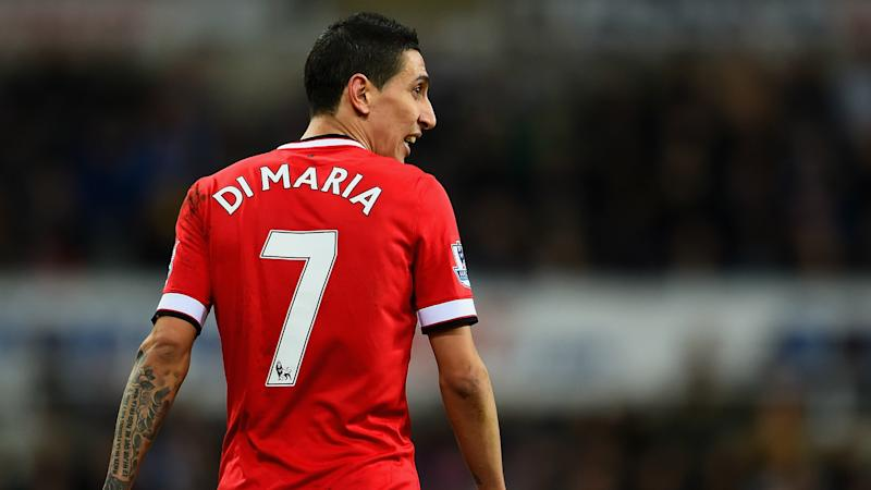 Angel Di Maria and the curse of the Manchester United's No.7 jersey