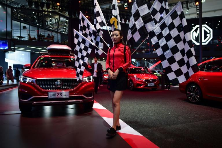 The Beijing autoshow, which is held every two years, attracted 820,000 people in 2018 from 14 different countries and regions