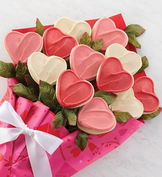 "<strong><h3><a href=""https://www.cheryls.com/valentines-cookies-gifts"" rel=""nofollow noopener"" target=""_blank"" data-ylk=""slk:Cheryl's Cookies"" class=""link rapid-noclick-resp"">Cheryl's Cookies</a></h3></strong><br>These are decorated and frosted with delicious buttercream icing. (Pssst, there's even an assortment of <a href=""https://fave.co/32BvVxQ"" rel=""nofollow noopener"" target=""_blank"" data-ylk=""slk:gluten-free"" class=""link rapid-noclick-resp"">gluten-free</a> options for our friends with food allergies.)<br><br><strong>Cheryl's Cookies</strong> Cheryl's Long Stemmed Buttercream Frosted Cookie Flower, $, available at <a href=""https://go.skimresources.com/?id=30283X879131&url="" rel=""nofollow noopener"" target=""_blank"" data-ylk=""slk:Cheryl's Cookies"" class=""link rapid-noclick-resp"">Cheryl's Cookies</a>"