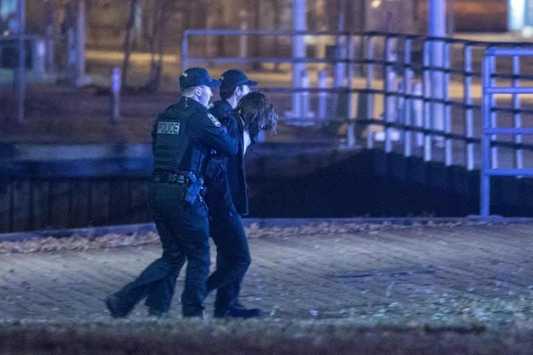 Police arrest a suspect in Quebec City sword attack on Halloween that left two dead and five injured