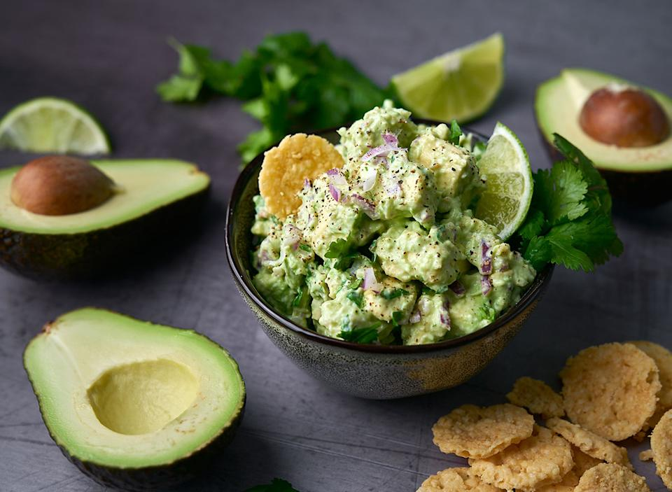 keto chips and guac