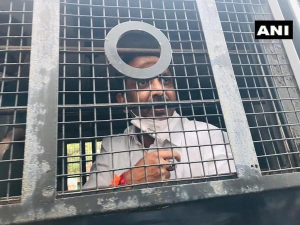 State BJP President K Surendran detained by Kerala Police (ANI/Twitter)
