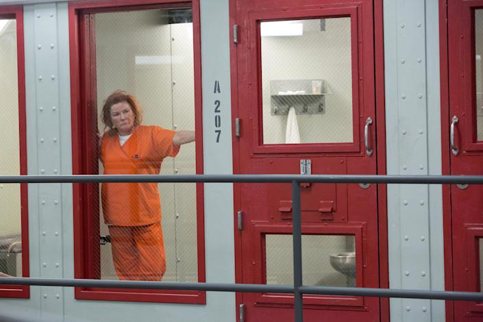 """<h1 class=""""title"""">Kate Mulgrew, """"Orange is the New Black"""" Season 6 (2018) Netflix</h1><cite class=""""credit"""">Photo: PictureLux / The Hollywood Archive / Alamy Stock Photo</cite>"""
