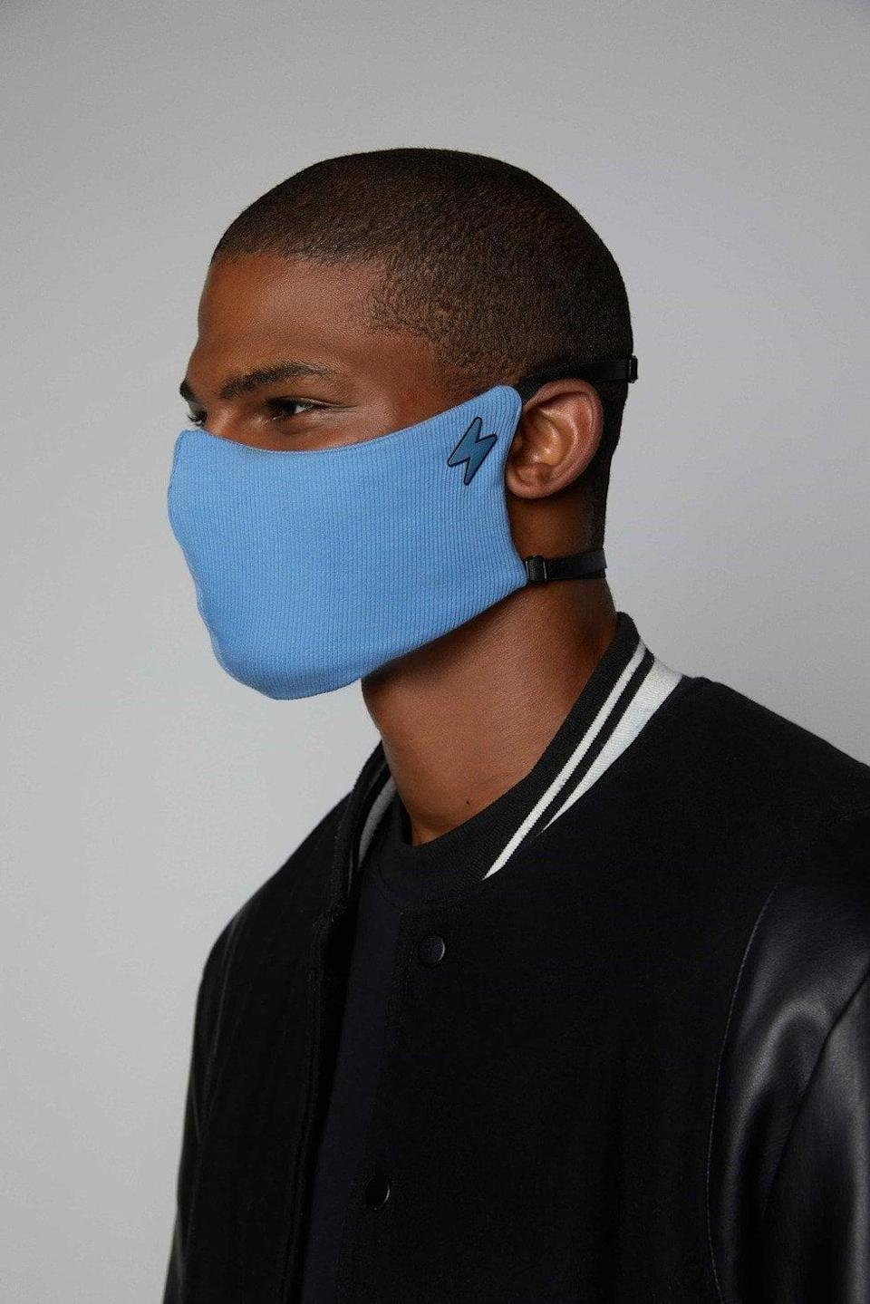 <p>The <span>Ari Jogiel The Voyager Mask</span> ($28) is a three-layer face covering that features a customized fit to offer optimal protection to those who wear it. A portion of the sales goes to The Conscious Kid Foundation, which helps fight racism in schools.</p>