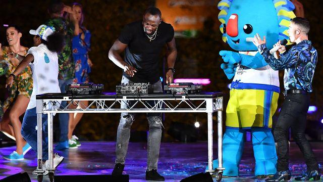 Bolt carved up the decks. Image: Getty