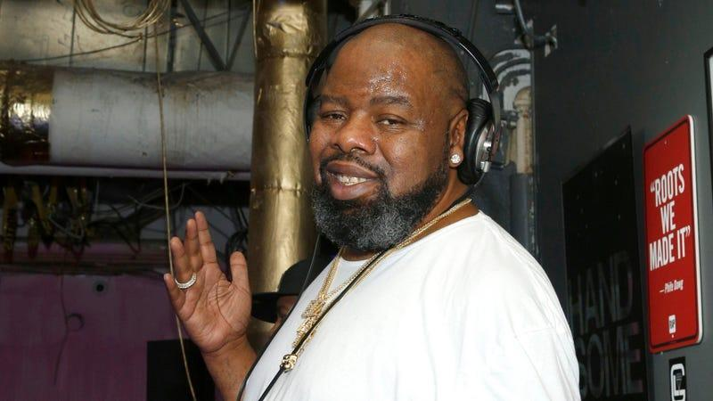 Biz Markie attends as Saks and Good Luck Dry Cleaners Host a Tribute to the Late Phife Dawg on February 15, 2018 in New York City.