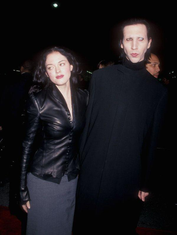 """<p>McGowan and the rock musician were engaged from February 1998 until January 2001, with the <em>Charmed </em><span class=""""redactor-invisible-space"""">actress ending the engagement. """"There is great love, but our lifestyle difference is, unfortunately, even greater,"""" she said <a href=""""http://www.etonline.com/news/166920_rose_mcgowan_blames_breakup_with_marilyn_manson_on_cocaine_use/"""" rel=""""nofollow noopener"""" target=""""_blank"""" data-ylk=""""slk:in a statement"""" class=""""link rapid-noclick-resp"""">in a statement</a>.</span></p>"""