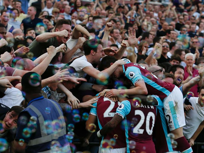 It was a big three points for West Ham and their beleaguered boss: Getty