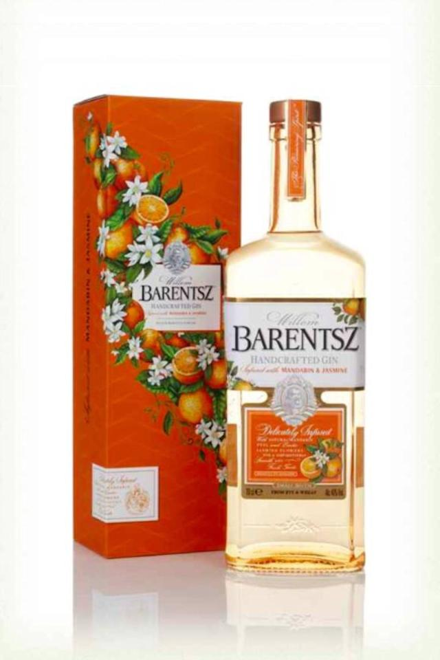 """<p>Barentsz Gin's new, flavoured expression, Barentsz Mandarin & Jasmine is delicately infused with natural mandarin peel and exotic jasmine flowers, giving it a smooth and fresh taste. Delicious.</p><p><strong><a class=""""body-btn-link"""" href=""""https://go.redirectingat.com?id=127X1599956&url=https%3A%2F%2Fwww.masterofmalt.com%2Fgin%2Fwillem-barentsz%2Fwillem-barentsz-mandarin-and-jasmine-gin%2F%3FcurrencyCode%3DGBP%26gclid%3DEAIaIQobChMI36bA642u5gIViLPtCh3F4ghgEAQYASABEgJY7_D_BwE&sref=http%3A%2F%2Fwww.cosmopolitan.com%2Fuk%2Fworklife%2Fg17850422%2Fbest-flavoured-gin%2F"""" target=""""_blank"""">SHOP NOW </a> £36.95, Masters of Malt </strong></p>"""