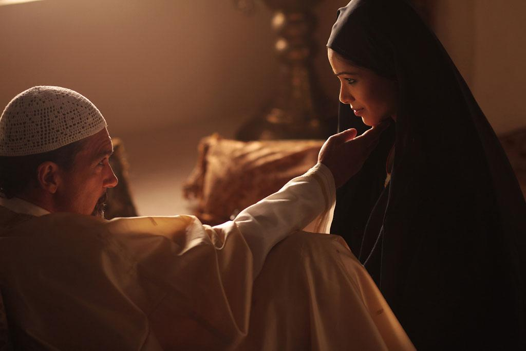 "Antonio Banderas and Freida Pinto in Image Entertainment's ""Day of the Falcon"" - 2013"