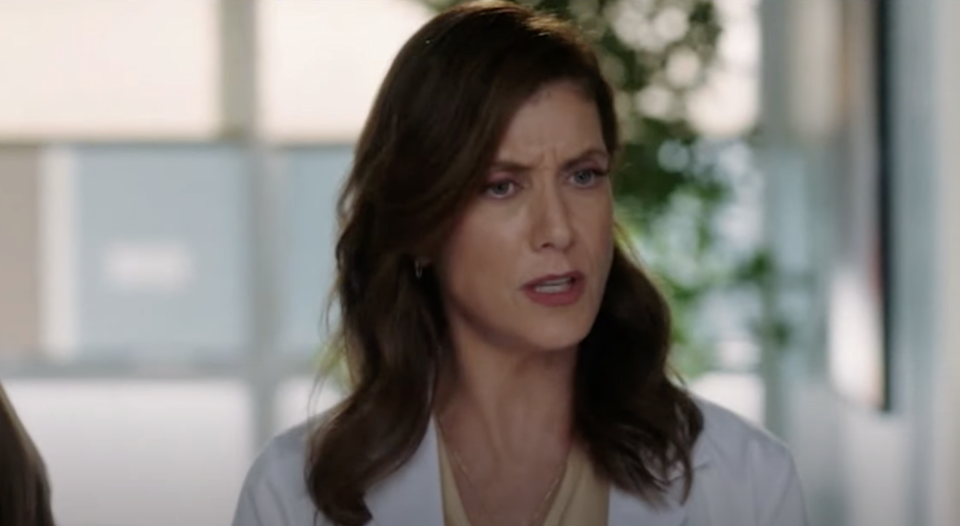 A serious-looking Kate as Addison