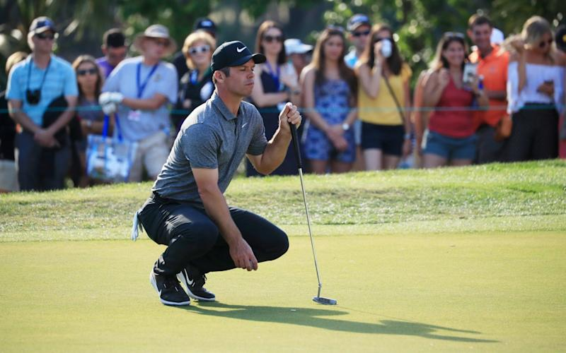 Paul Casey is a man on a mission in Florida - Getty Images North America