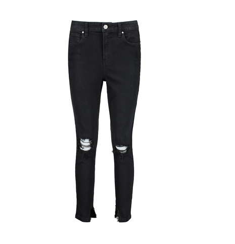 While the jeans no longer appear on the site, there are similar ones, like these black high-waisted jeans. Photo: Kmart