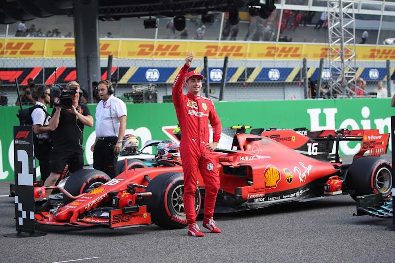 F1, Super Leclerc: Ferrari in Pole Position nel GP di Russia 2019