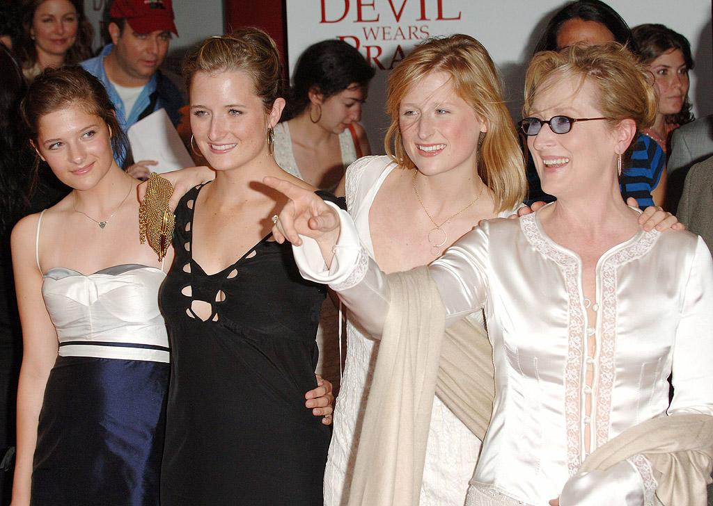 "<p class=""MsoNoSpacing"">When did Meryl Streep find the time to raise four kids? The three-time Oscar-winning actress also managed to pass her incredible gift – and her beauty – onto three daughters (fellow actresses Mamie, 29, and Grace, 26, and Louisa, 21) and a son, singer-actor Henry, 32, with her husband of 33 years, sculptor Don Gummer.</p>"