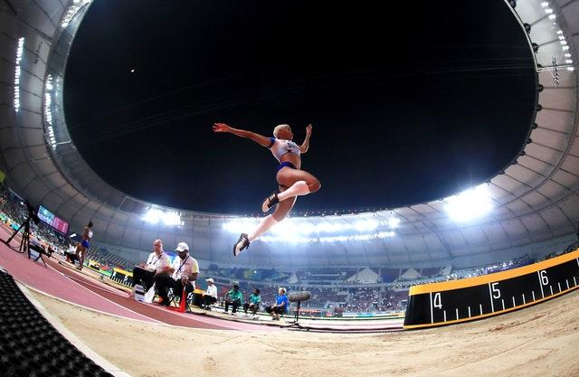 The Khalifa Stadium, which hosted this year's World Athletics Championships, will also stage World Cup matches in 2022 (Martin Rickett/PA)