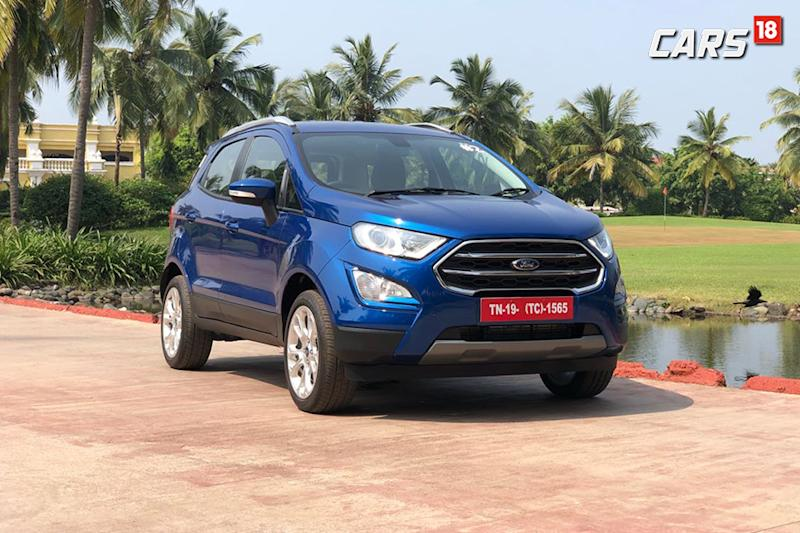 New Ford Ecosport Helps Ford India Sales Cross 22 000 Vehicles In