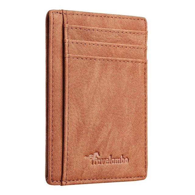Travelambo Slim Wallet (Photo: Amazon)
