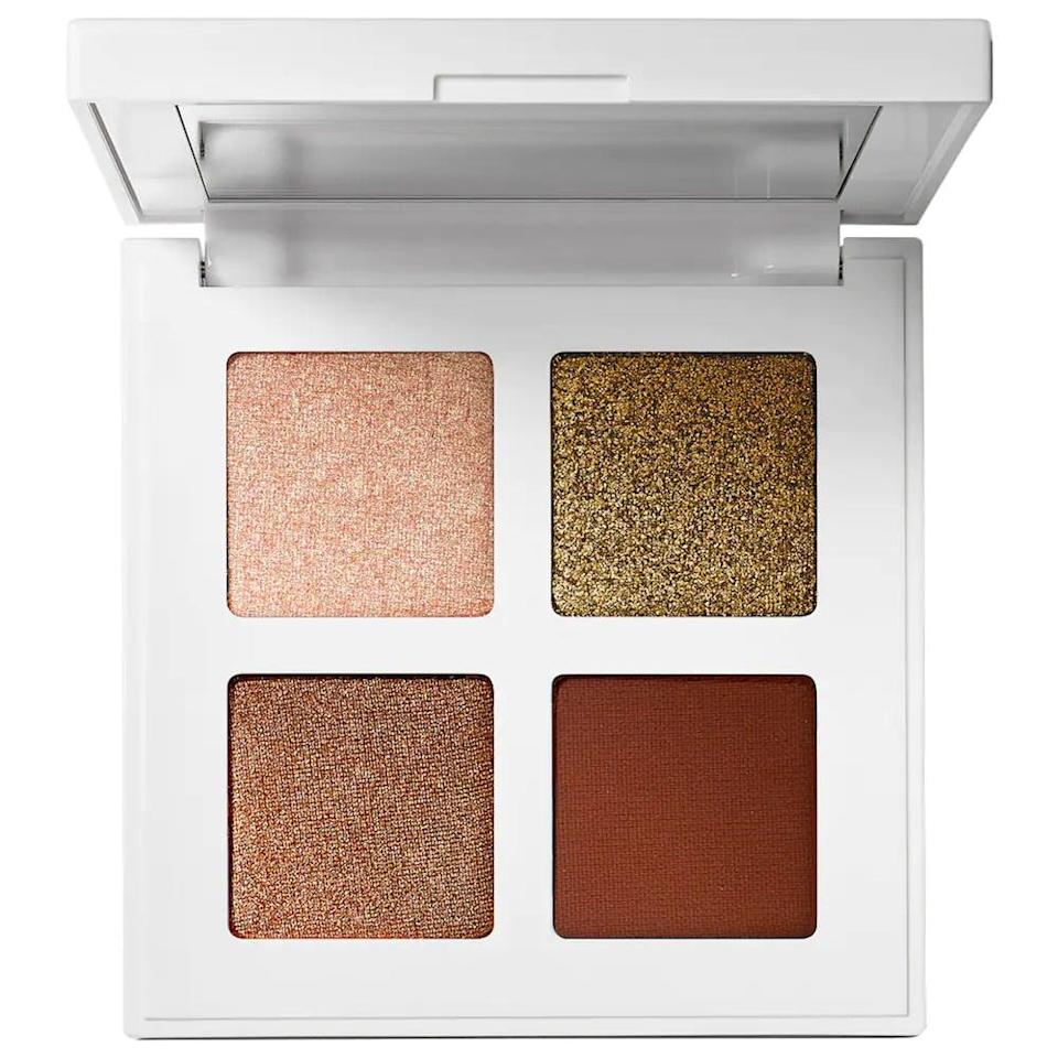 <p>The <span>Makeup By Mario Glam Eyeshadow Quad</span> ($25) is perfect for all makeup lovers, whether they are a newbie or a bonafide beauty guru. It's got a great arrangement of neutrals that can instantly glam up a look with just a few swipes.</p>