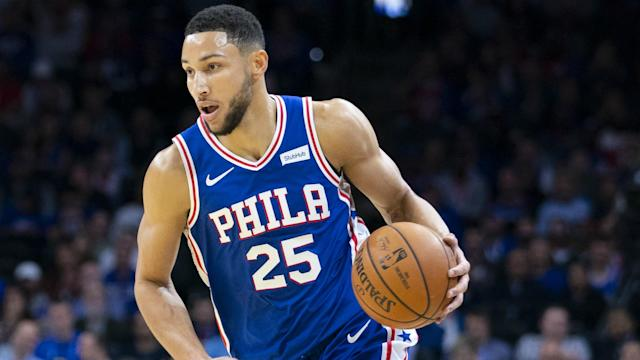 Philadelphia 76ers guard Ben Simmons reflected on his maiden three.