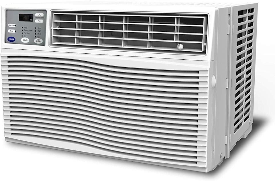 <p>You can install the <span>Gree 12000 BTU Window Air Conditioner</span> ($420) with only a screwdriver. And after the easy installation, the remote control will send real-time temperature data to the unit, so it can self-adjust accordingly to suit your preferences. You'll be feeling breezier in no time!</p>