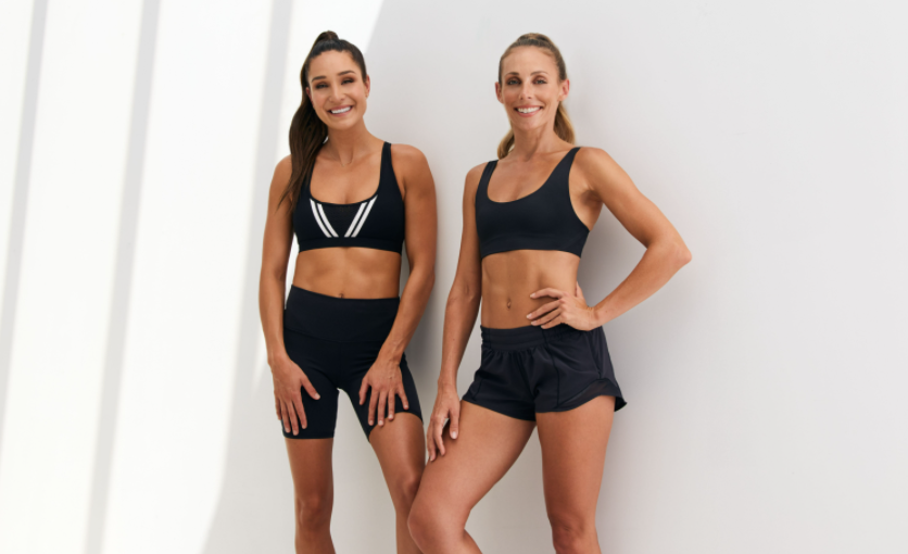 kayla itsines and new sweat trainer sara Colquhoun