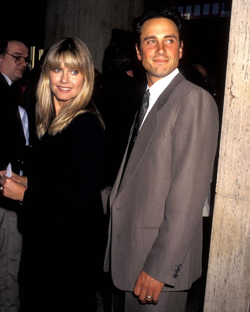 Olivia and Matt married in 1984 and had Chloe in 1986. They are pictured here together in 1991, five years before they divorced. Source: Getty